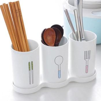 Ceramic chopsticks tube drain Korean storage rack rack chopsticks cage household chopsticks bucket chopsticks box фото