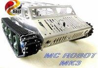2wd Tank Crawler Chassiss Robot Electronic Toy DIY Development Kit Diy Platform Wall E