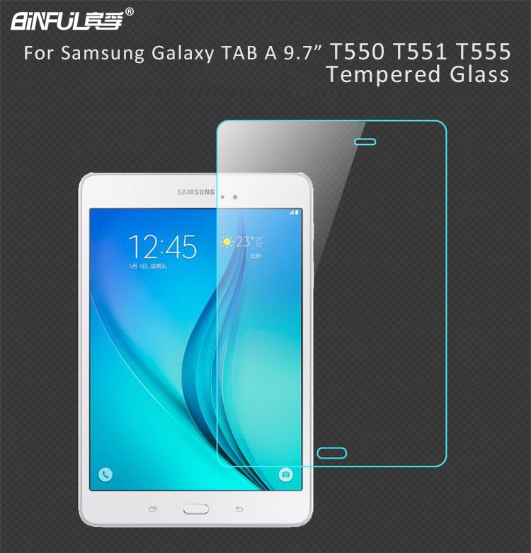 Tempered Glass For Samsung Galaxy TAB A 9.7 T550 T551 T555 P550 P555 Tablet Protective Explosion-Proof Screen Protector Film