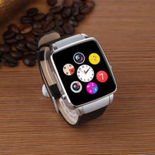 Silver and Gold Color X6 Smart Watch with SIM Card Sport Bluetooth Smart Clock in Stock for Android HTC HUAWEI LG IOS iPhone