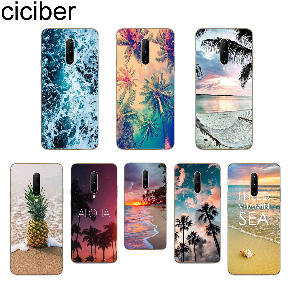 ciciber Beach Sky Phone Cases For font b Oneplus b font font b 7 b font