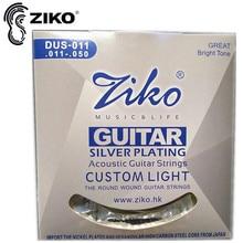 Elixir .010-.047 NANOWEB 11002 Akustilise kitarri keelpillide osad Tasuta kohaletoimetamine hulgimüük