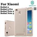 1 xScreen film + Nillkin Duro caso cubierta protectora para Xiaomi Redmi 3 Pro Nota 3 2 Frosted Shield