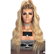 Blonde Lace Front Wig Ombre T4/613 Human Hair Wigs With Baby Hair 13*6 Colored Lace Front Wigs Ombre Lace Wig Aimoonsa Remy