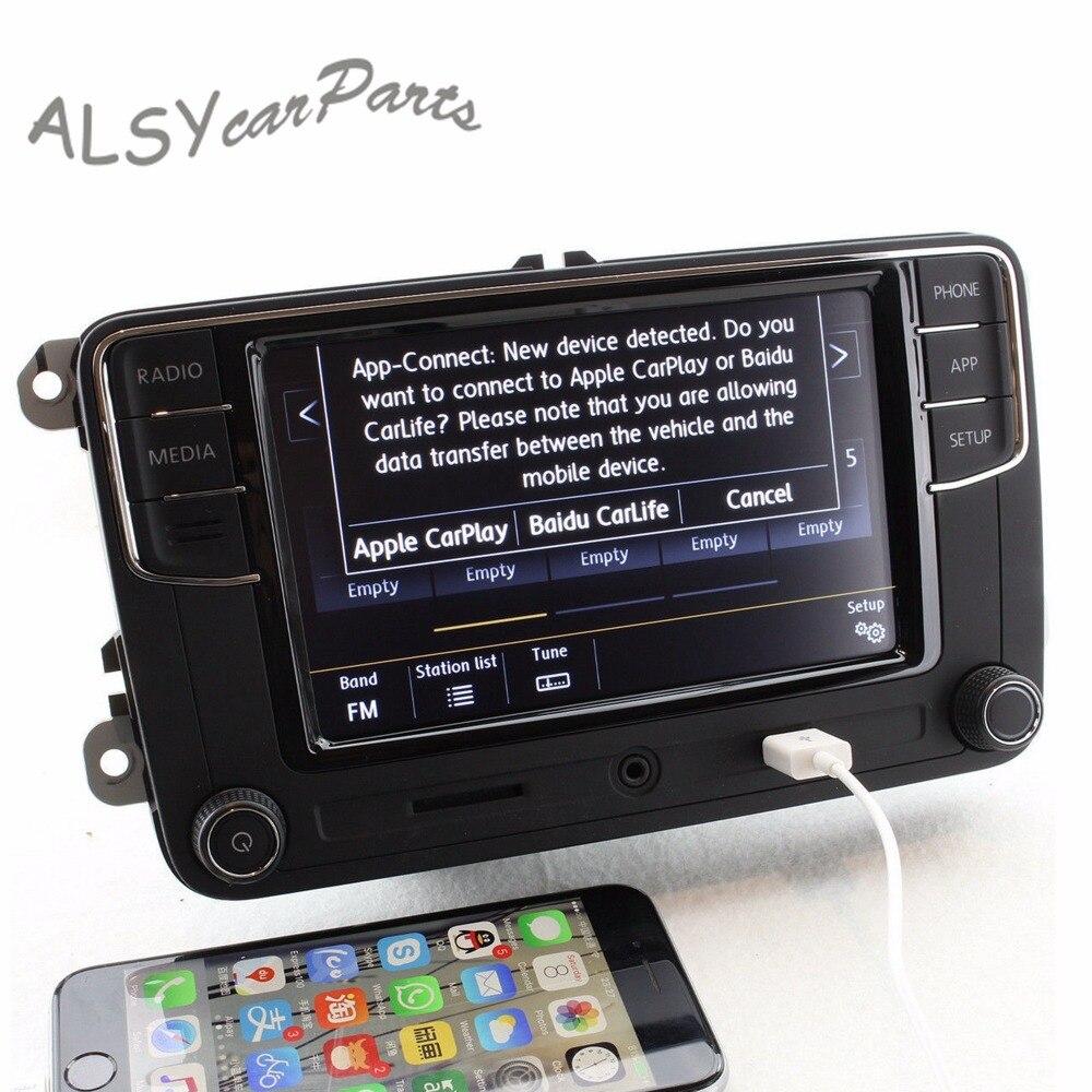KEOGH OEM 6RD 035 187 B 6.5 ''MIB RCD330 Plus CarPlay Pour VW Golf 5 6 Jetta Tiguan Passat 6RD035187B USB OPS Carte SD Bluetooth