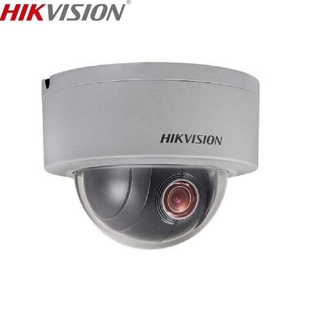 US $169 1 5% OFF|HIKVISION DS 2DE3204W DE 2MP 1080P Mini PTZ IP Camera  2 8mm 12mm,4X Zoom Support IP66 Outdoor Waterproof PoE Security Camera-in