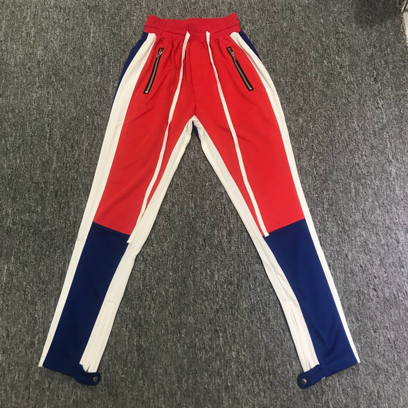 JaKar Skinny Sweatpants hombres Slim Fit Jogger Pants Zipper 2018 Side  Stripe Fashion Sweatsuit Streetwear elástico 0e5598a73e7d
