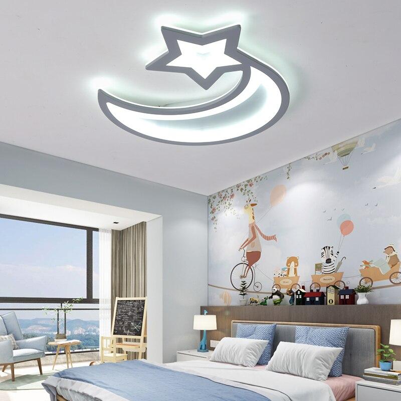 Blanc/marron télécommande 2/3/5/6 anneau lustre pour salon chambre étude moderne lustre éclairage lampadari