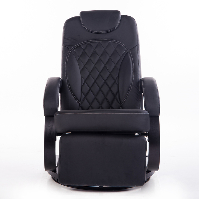Grand Leatehr Salon Chaise Fauteuil Ergonomique Pivotant Inclinable - Fauteuil ergonomique salon