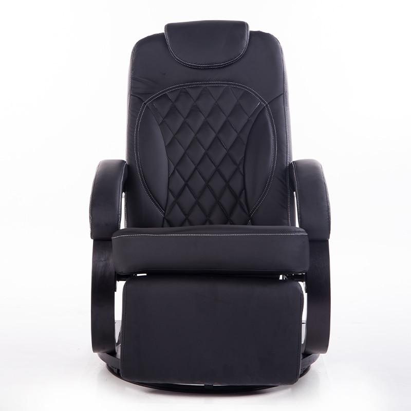gran leatehr saln silla silln ergonmico giratorio reclinable silla reclinable moderno silln de oficina base de