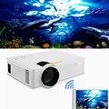 2000 Lúmenes GP9 Mini Proyector 1080 P HD Proyector de Vídeo de Cine En Casa Cine Protable Proyector HDMI/USB/SD/AV/3.5mm