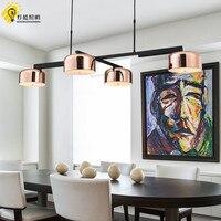 Бар столовая лампы и фонари контракт исследование постмодерн светодиодный вращающийся Ресторан Таблица люстра кулон лампа