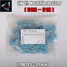 2W Watt 1% (200pcs/lot) Metal Film Resistor  56 62 68 75 82 91 Ohm