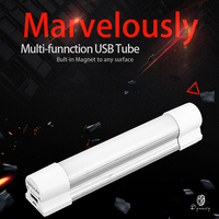 Portable LED Tube Lights USB Emergency Lights Chargeable For Outdoor Camping Repair Hiking Fishing Reading SOS Illumination|LED Bulbs & Tubes| |  -