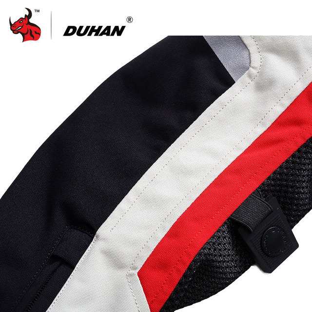 DUHAN Women Motorcycle Jacket Breathable Motorcycle Clothing Summer Women Moto Jacket And Motorcycle Pants Racing Clothes Suit 4