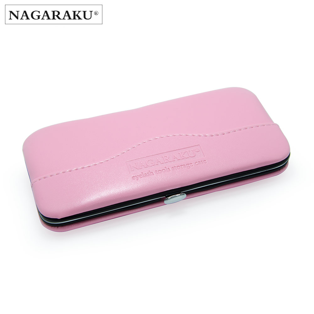 NAGARAKU New professional storage for eyelash extension tweezers eyelash extension bag and case tools for tweezers пылесос panda i5 red