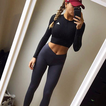 NORMOV S-XL 3 Colors Casual Push Up Leggings Women Summer Workout Polyester Jeggings Breathable Slim Leggings Women 1