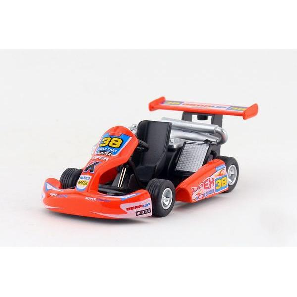 children kids kinsmart turbo go kart model car ks5102 5inch diecast metal alloy cars toy pull