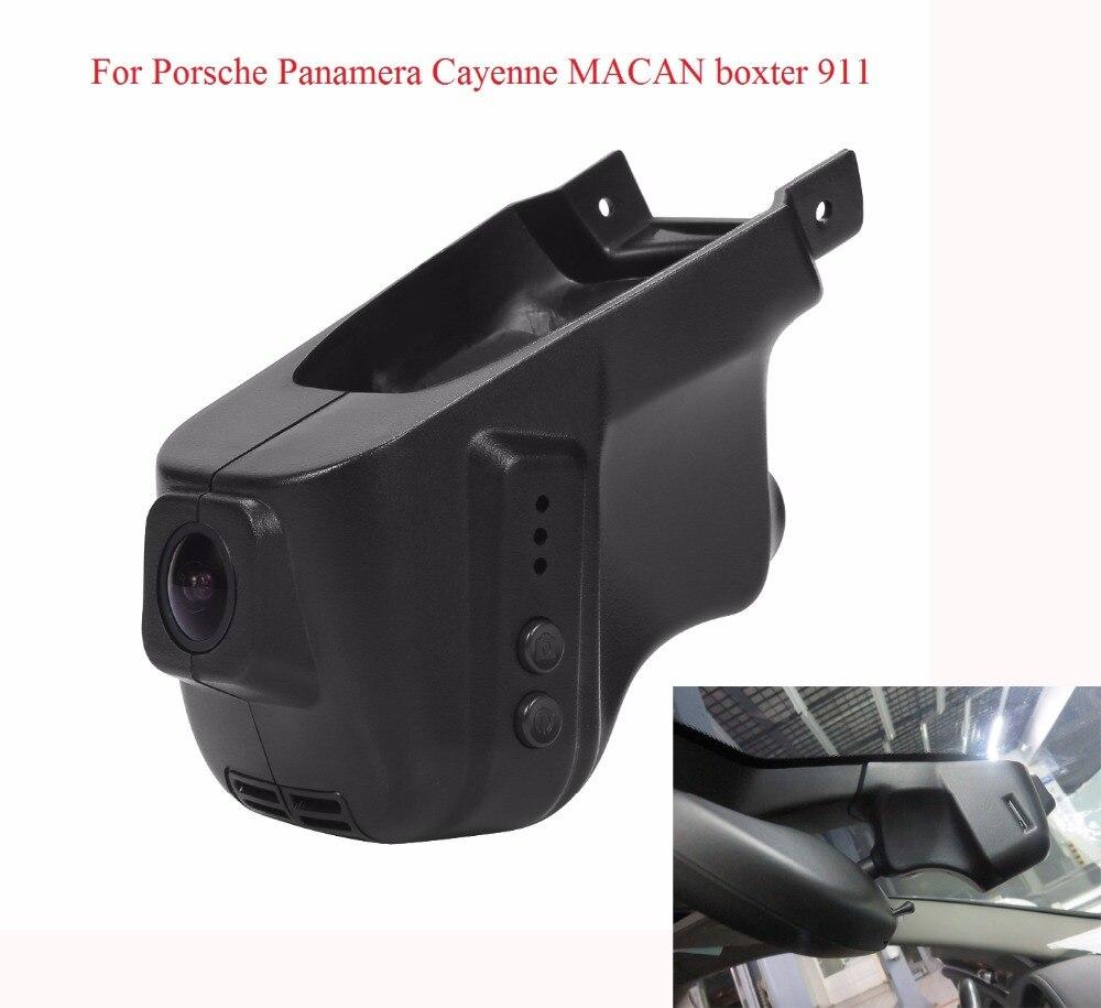 Wifi Car Camera for Porsche Panamera MACAN / cayman Cayenne Boxter 911 HD 1080P Hidden Install Car DVR Automoblie Video Recorder