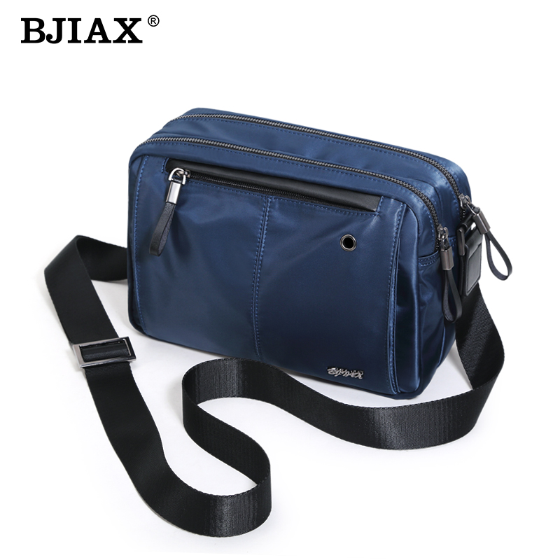bjiax venta caliente mensajero de los hombres bolsas de alta calidad de los hombres bolsa