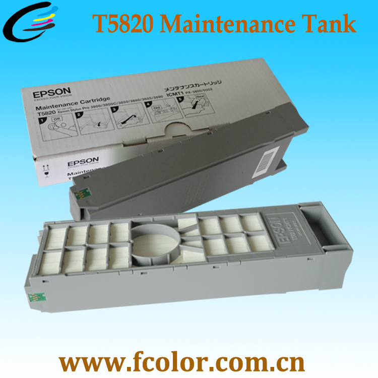 T5820 Maintenance Tank for SureLab D700 Printer Waste Ink Cartridge. Mini Dry Lab Fuji DX100 Waste Ink Box колготки детские infinity kids цвет белый 32234460013 200 размер 122 128