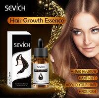 Sevich Hair Growth Essence Hair Loss Liquid Natural Pure Origina Essential Oils 20ML Dense Hair Growth Serum Health Care Beauty 6