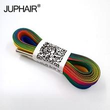 1-12 Pairs Rainbow color boys shoes woman off white sneakers ruban dentelle women encaje koronka lace lacet lacci shoelaces flat