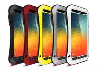 Originale Potente Piccolo Mezzo Impermeabile Antiurto In Alluminio Casi Della Copertura di Caso Per Samsung Galaxy Note 5 N9200 Personalità Nero