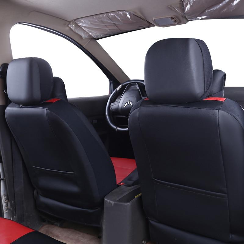 Yuzhe PU Leather Auto Universal Fundas de asiento de coche Cubiertas - Accesorios de interior de coche - foto 4