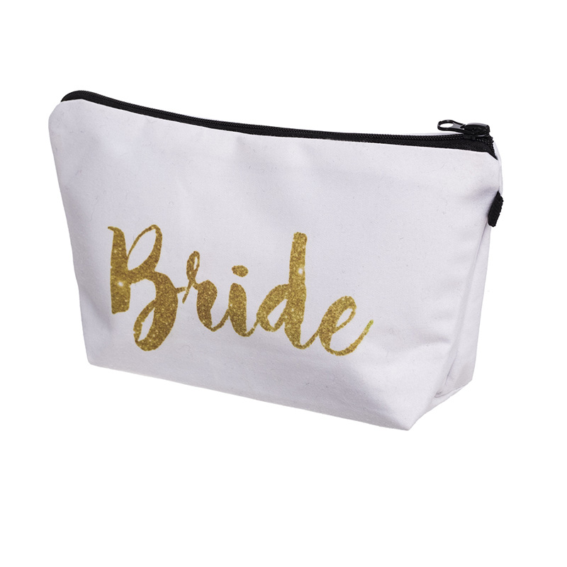 Team Bride Tribe To Be Makeup Gift Bag Bridesmaid Proposal Wedding Bachelorette Hen Night Party Bridal Shower Decoration Favor