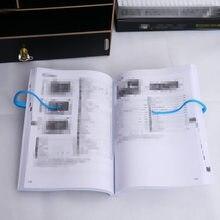 Складная книжная полка и органайзер для книг ленивые люди книжный зажим инструмент для чтения книжный держатель книг школьные офисные принадлежности