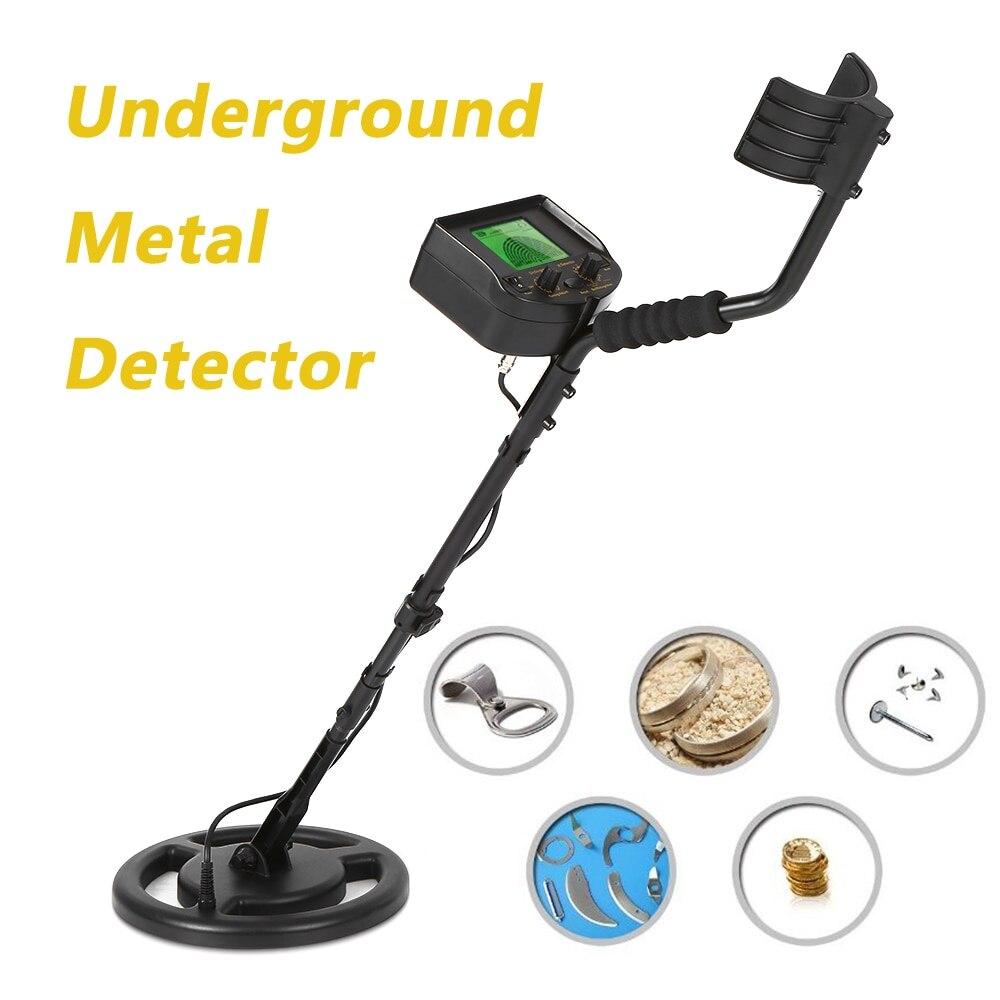 100-240 V haute sensibilité détecteur de métaux souterrain or Digger trésor chasseur testeur Scanner outil de numérisation + écouteur Buzzer