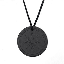Fashion Males Accessories Black Quantum Scalar Energy Pendant ions Energy Power Trendy Men Necklace Jewelry As Gift