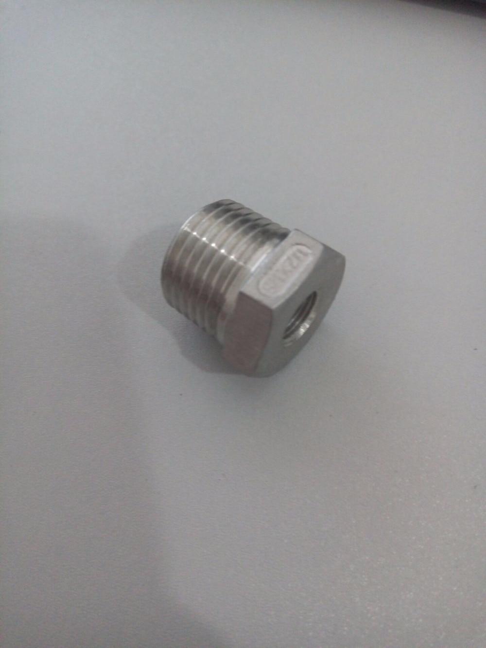 웃 유 stainless steel ≧ reducer bsp male