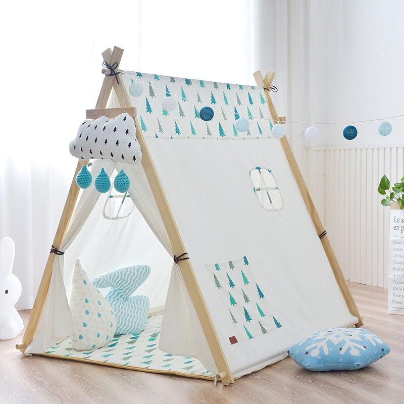 Детская палатка, большой Крытый игровой домик для мальчиков и девочек, игрушечный домик, Игровая палатка, большой раздельный артефакт, игро... - 5