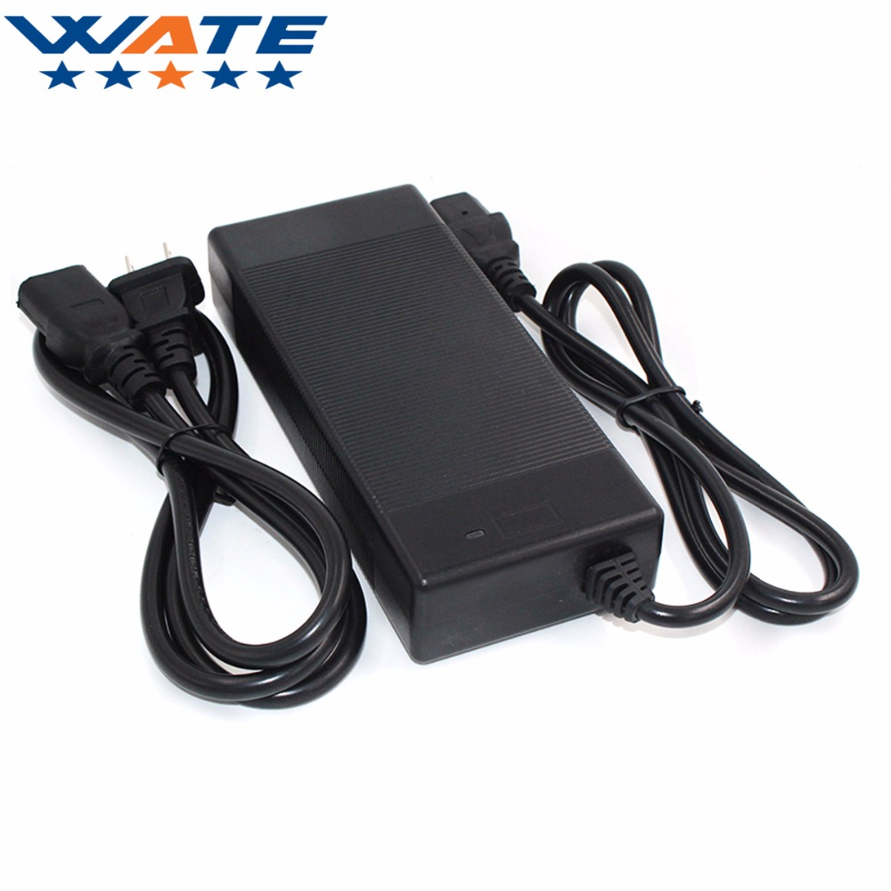 50.4V 2A Charger 12S 44.4V Li-ion electric bike battery 44.4V Lithium Battery Charger Input 110-220V Free shipping