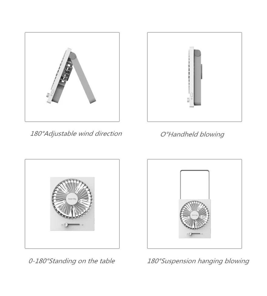 Xiaomi SmartFrog Portable Foldable USB Desktop Fan 7