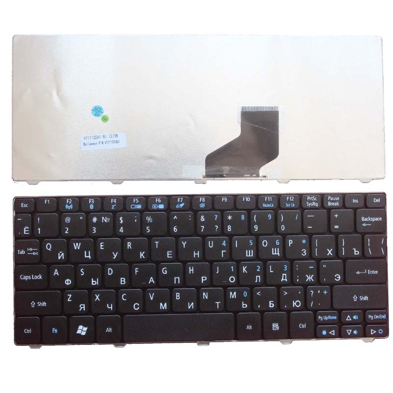 Russian Keyboard for Gateway Mini LT21 LT25 LT27 LT28 LT2100 LT32 LT3201u Packard Bell Dot SPT 723 SE SE2 SE3 SC PAV80 RU Black russian keyboard for gateway ne56 ne56r ne51b p5ws6 ne71b nv59a nv59c nv79c ru black