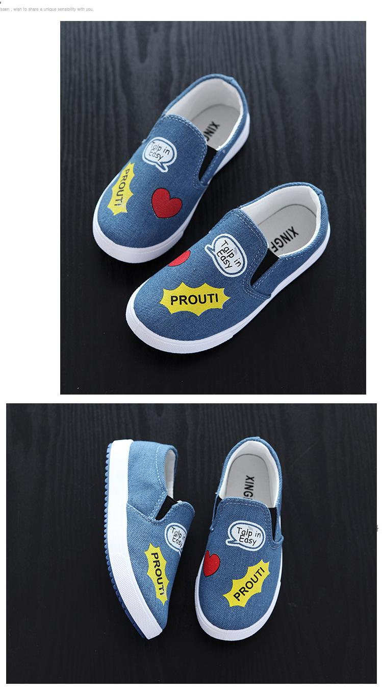 17 New Children Shoes Boys Girls Canvas Casual Shoes Sneakers Fashion Kids Flat Loafers Comfort Breathable Baby Boy Girl Shoes 5