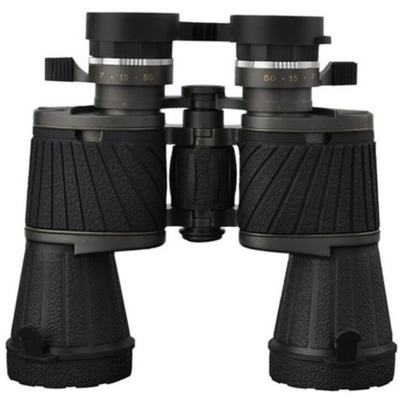 10X50 optical lens BAK4 HD telescope high power magnification zoom binoculars night vision binoculars for hunting camping 8x zoom optical mobile phone telescope camera white