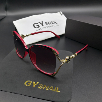 GYsnail 2018 Luxury Brand Design Sunglasses Women Elegant Big Oval frame Sun Glasses for women's Female Eyewear Oculos De Sol