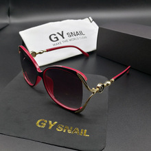 GYsnail 2017 Luxury Brand Design Sunglasses Women Ladies Elegant Big Sun Glasses for womens Female Eyewear Oculos De Sol Shades