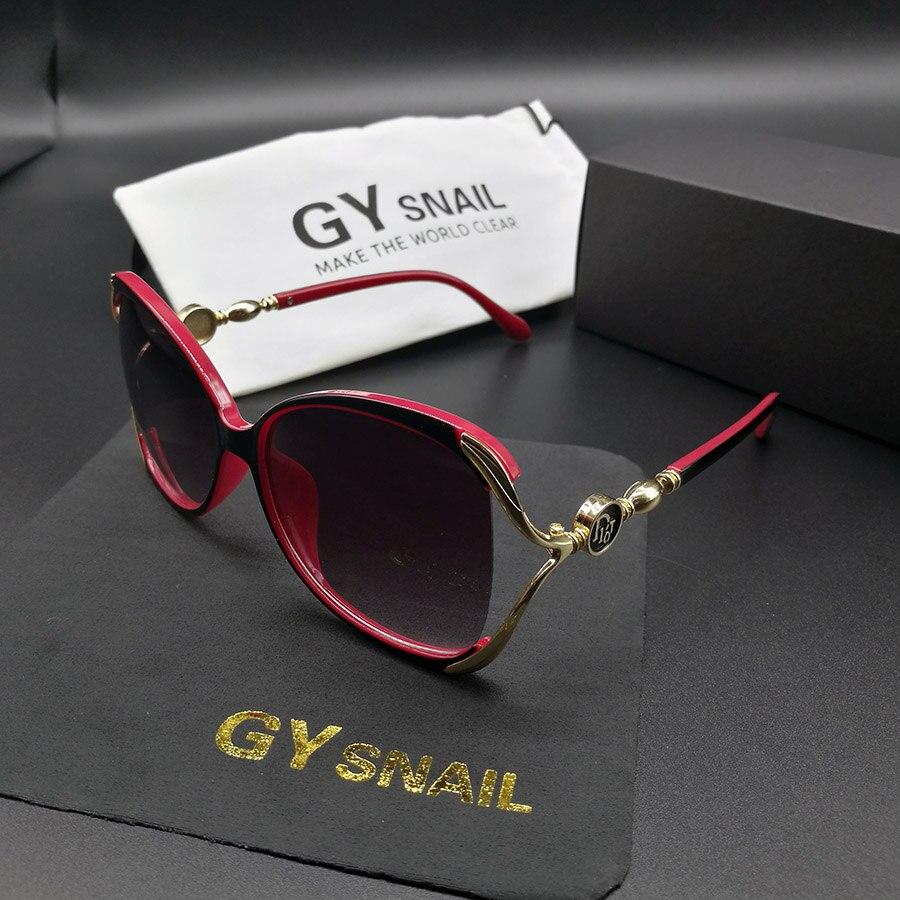 GYsnail 2018 diseño De marca De lujo gafas De sol mujer elegante ...