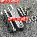 free shipping Motorcycle Front Footrests Foot pegs For Honda NC750S NC750X 14-16 NC700 2012-2015