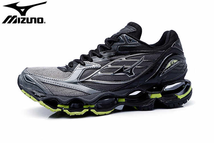 wholesale dealer 84b73 71067 2018 Mizuno Wave Prophecy 6 Men Running Shoes,Professional Sneakers Men  Shoes,5 Colors Classic Stable Sports Shoes Size 40-45