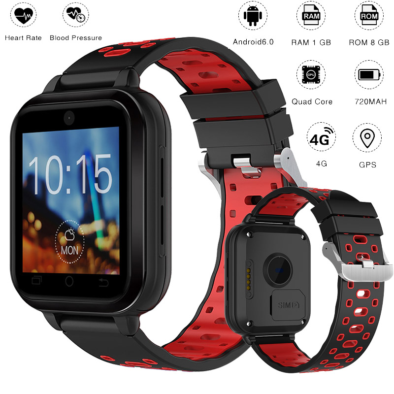 New Q1 Pro 4G Smart Watch MTK6737 Quad Core 1GB Ram 8GB Rom Android 6.0 Wristwatch 1.54