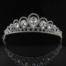 Christmas promotion vintage tiara and crowns bridal hair accessories wedding for sale pageant head jewelry