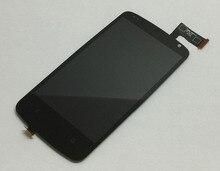 Лучшие 100% Тесты Сенсорный экран планшета Сенсор Стекло + ЖК-дисплей Дисплей Мониторы Экран Панель модуля в сборе для HTC Desire 500