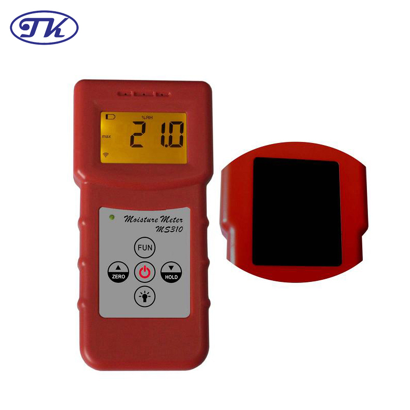 MS310 Inductive Moisture Meter Measuring Moisture Content of Wood,Paper,Bamboo, Concrete,Metope