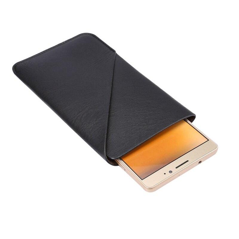 90e7aa5b35 New Universal PU Bolsa em Couro para Samsung Galaxy  Mega i9200 i9208 9152 9158 Cartão de Saco Do Vintage Caso Slot para Huawei  Companheiro 7 8